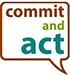 Commit and Act Logo